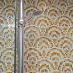 Bathroom Shower with tile Mosaic