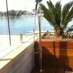 Pool Shower installed on deck Cabarita NSW