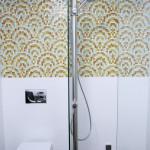 Space-saving Bathroom Shower installation of Aquapole