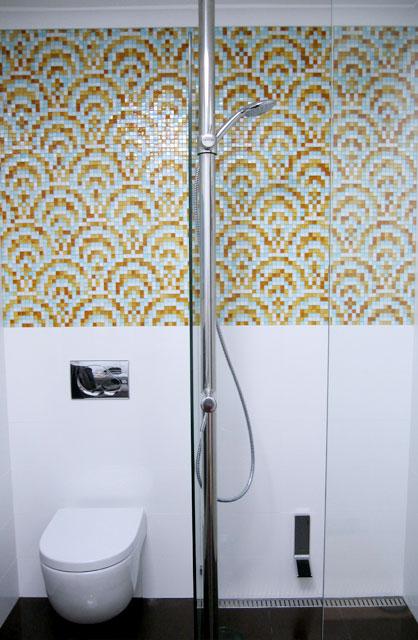 Space-saving Bathroom Shower installation of SMG Indoor Shower