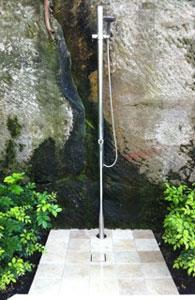 Pool Shower on tiled base Wunda Rd, Mosman NSW